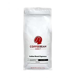 CoffeeBean Direct Italian Roast Espresso Whole Bean Coffee