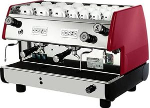 La Pavoni BAR-T 2V-B Commercial 2 Group 14L Boiler Volumetric Espresso Machine
