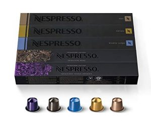 Nespresso OriginalLine Ispirazione Variety Pack, Mild, Medium, Dark Roast Espresso Coffee