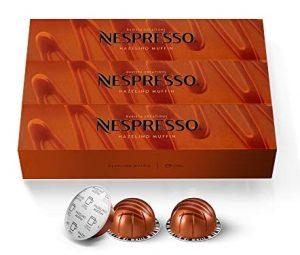 Nespresso VertuoLine Hazelino Muffin Mild Roast Coffee Capsules