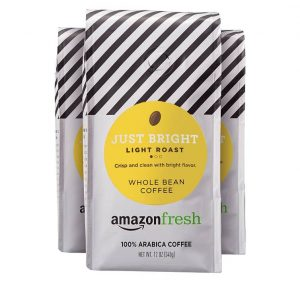 Amazon Fresh Just Bright Light Roast Coffee