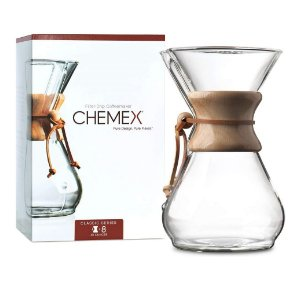 CHEMEX pour-over glass coffee maker classic series