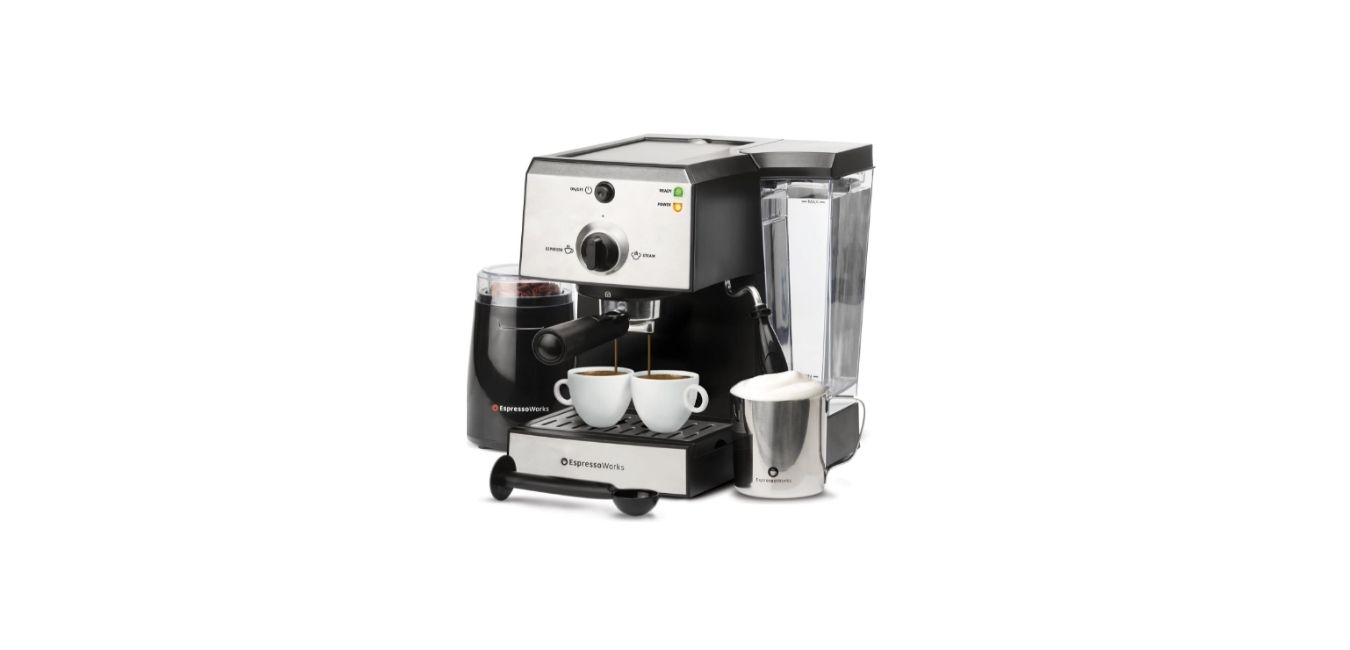 All-In-One Espresso Machine & Cappuccino Maker