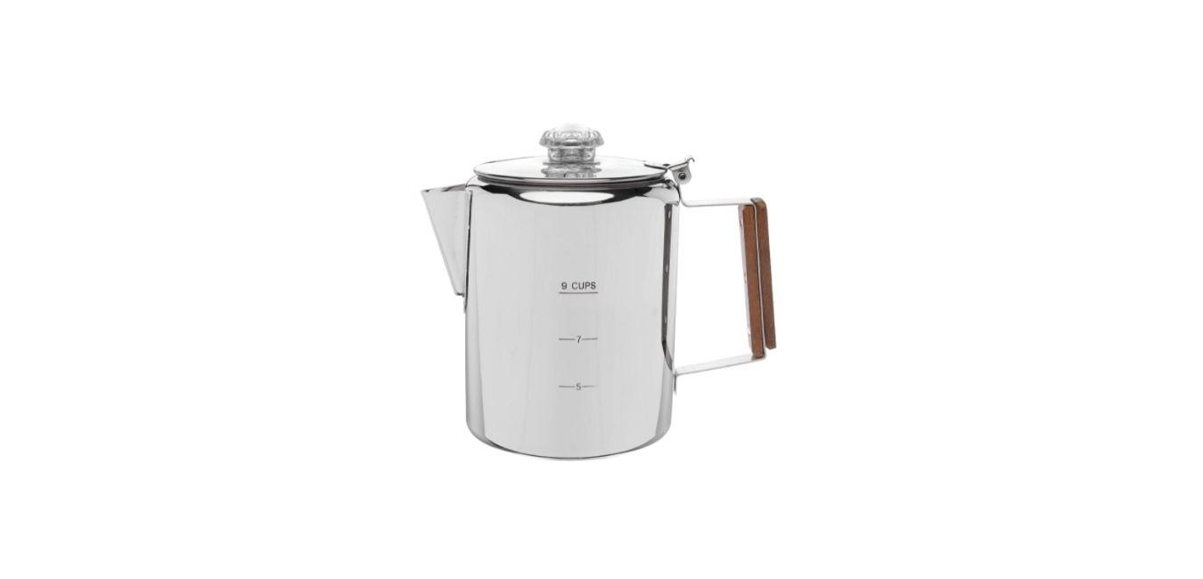 COLETTI Bozeman Coffee Pot - Coffee Percolator