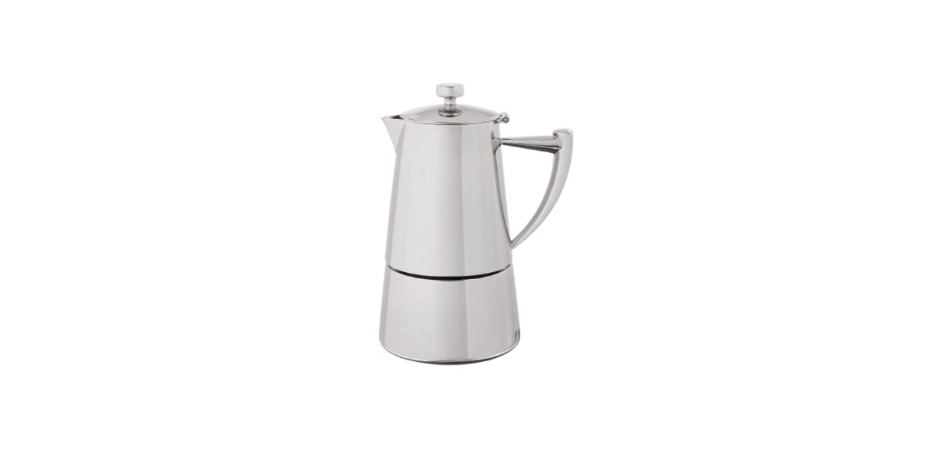 Cuisinox Roma 6-cup Stainless Steel Stovetop Moka Espresso Maker