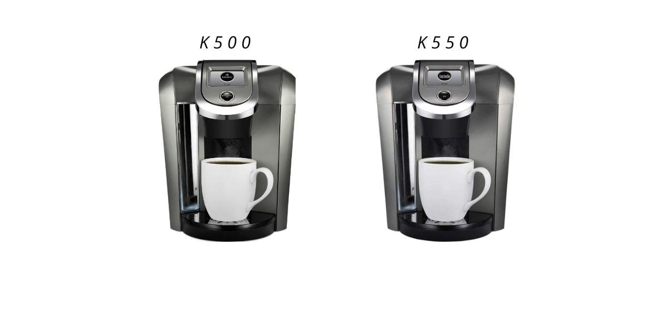 Keurig's k500 VS k550