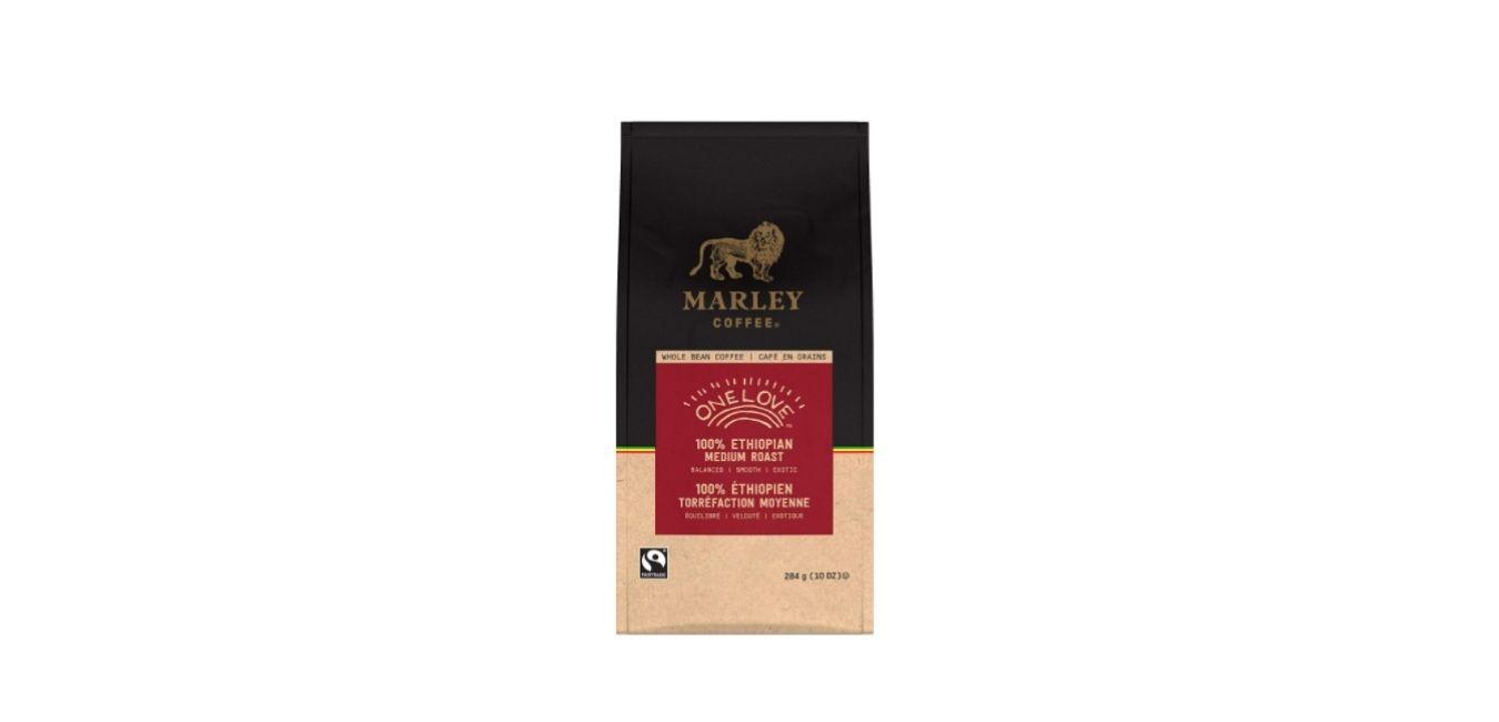 Marley Coffee's One Love Ethiopian Coffee