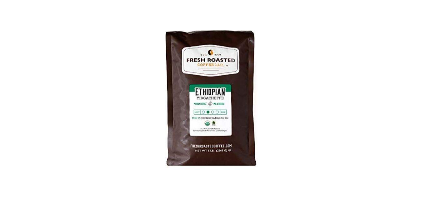 Organic Ethiopian Yirgacheffe Coffee