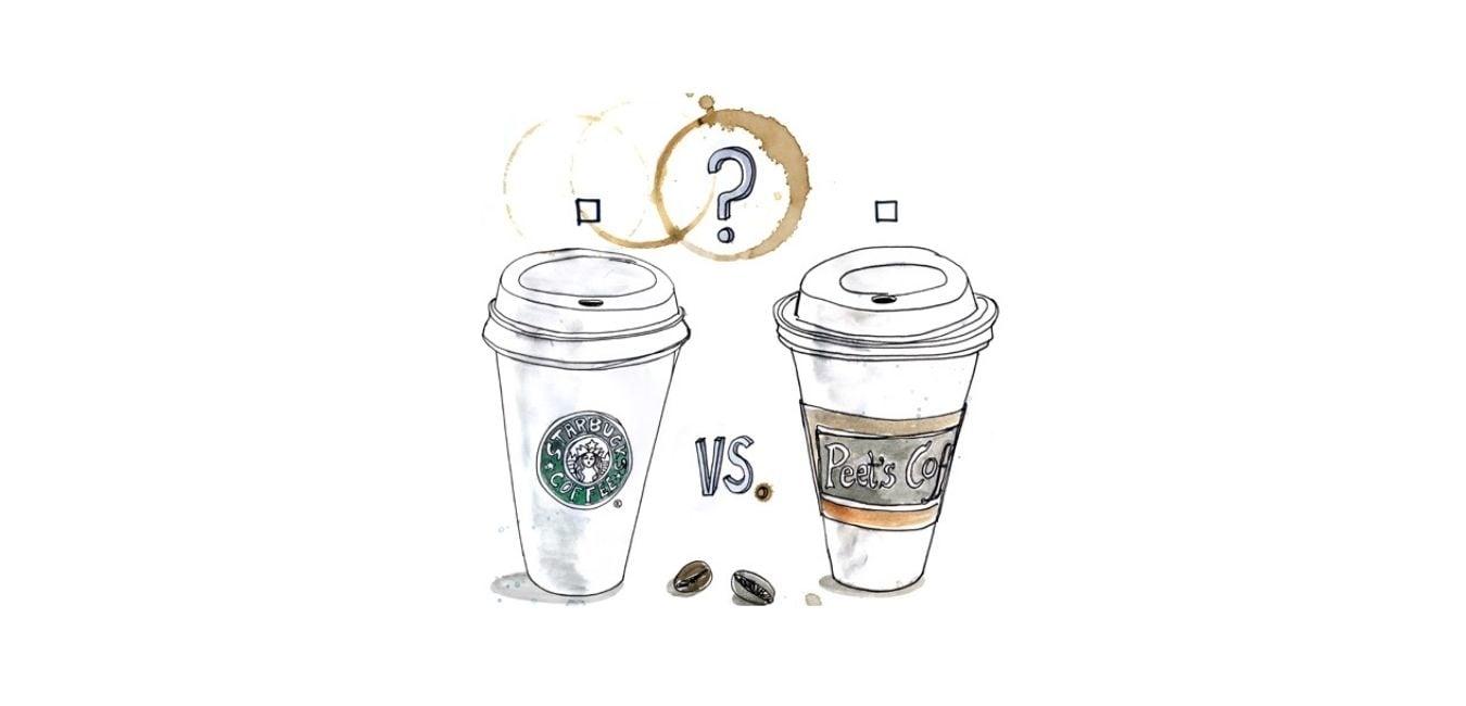 Peet's vs Starbucks