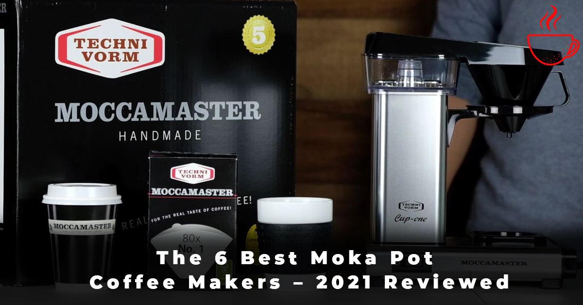 The 6 Best Moka Pot Coffee Makers – 2021 Reviewed