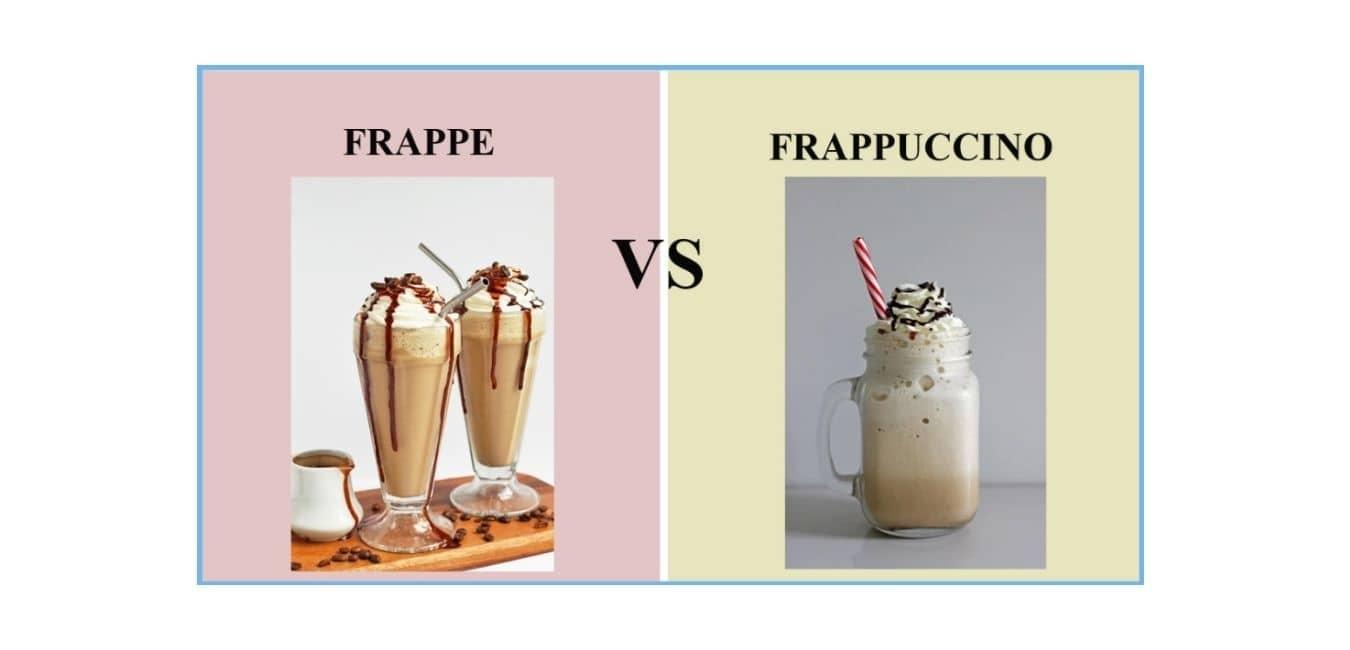 Frappe VS Frappuccino Health Risks