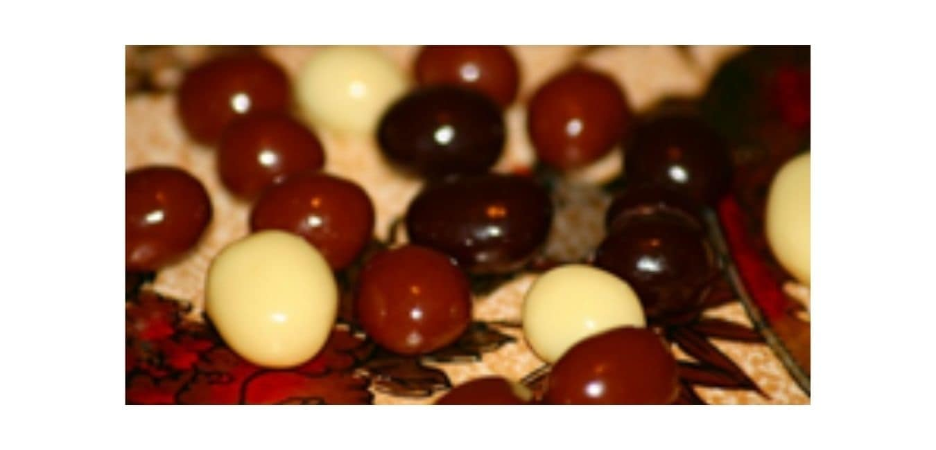 Eat chocolate-covered coffee beans seldom