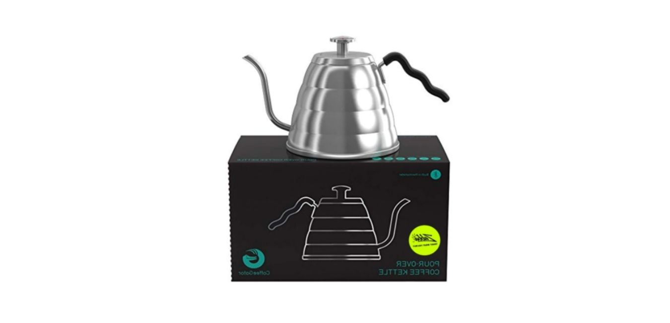 Gooseneck Kettle - Coffee Gator Pour Over Kettle