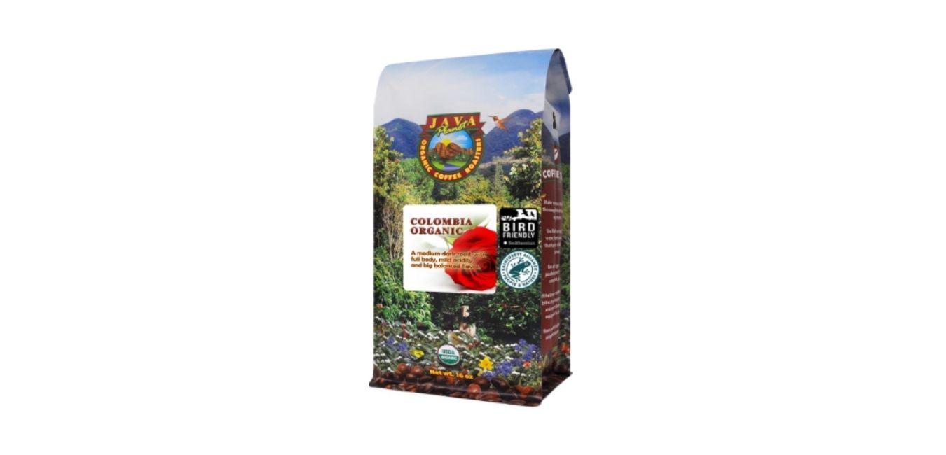 Java Planet, Organic Coffee Beans